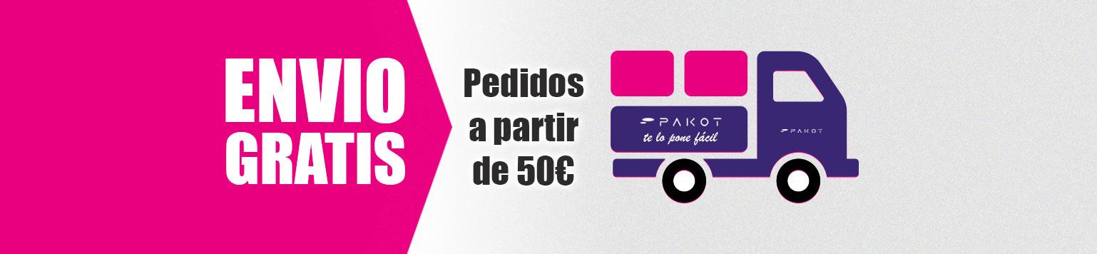 d7931375e2e6 Gastos de envío para Pedidos inferiores a 50€ en la Península