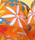 Rollo Cinta Textil Flores