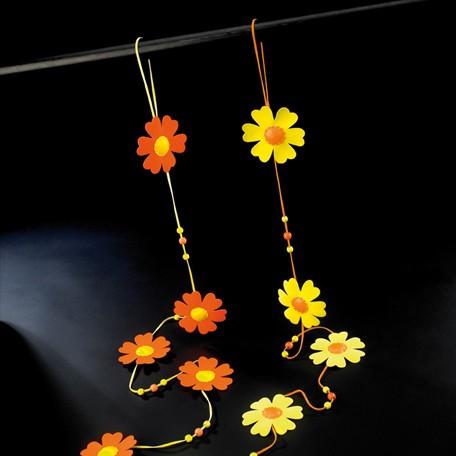 Flores en cuerda (2 unidades)