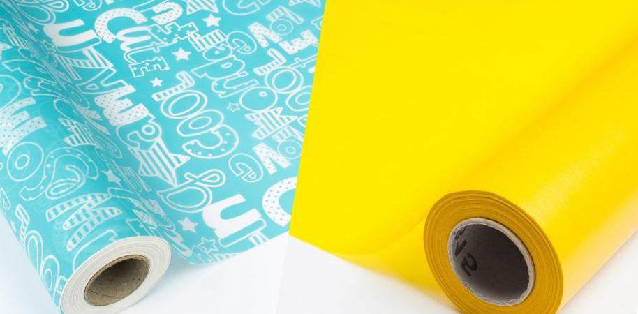 tipos de papel de seda