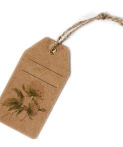 Tarjeta Cartón Natural (Pack 12 unidades)