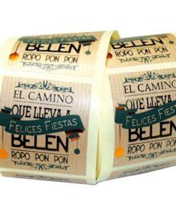 """Etiqueta """"BELEN"""" catalán"""