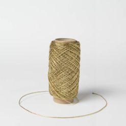Rollo Cordón Textil Oro