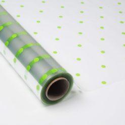 """Polipropileno Transparente Impreso """"Topo Verde"""""""