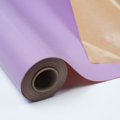 Bobina Kraft Plastificado Impreso Malva