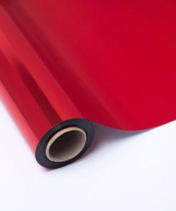 Bobina Polipropileno Metalizado Rojo