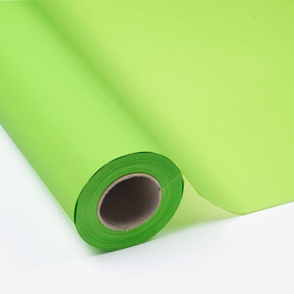 Bobina Papel Seda 17 grs. Impreso Verde Claro