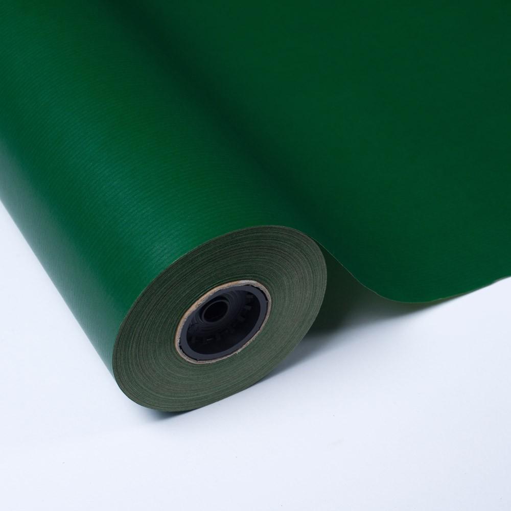 """Bobina Papel Kraft Impreso """"Verde Oscuro"""""""