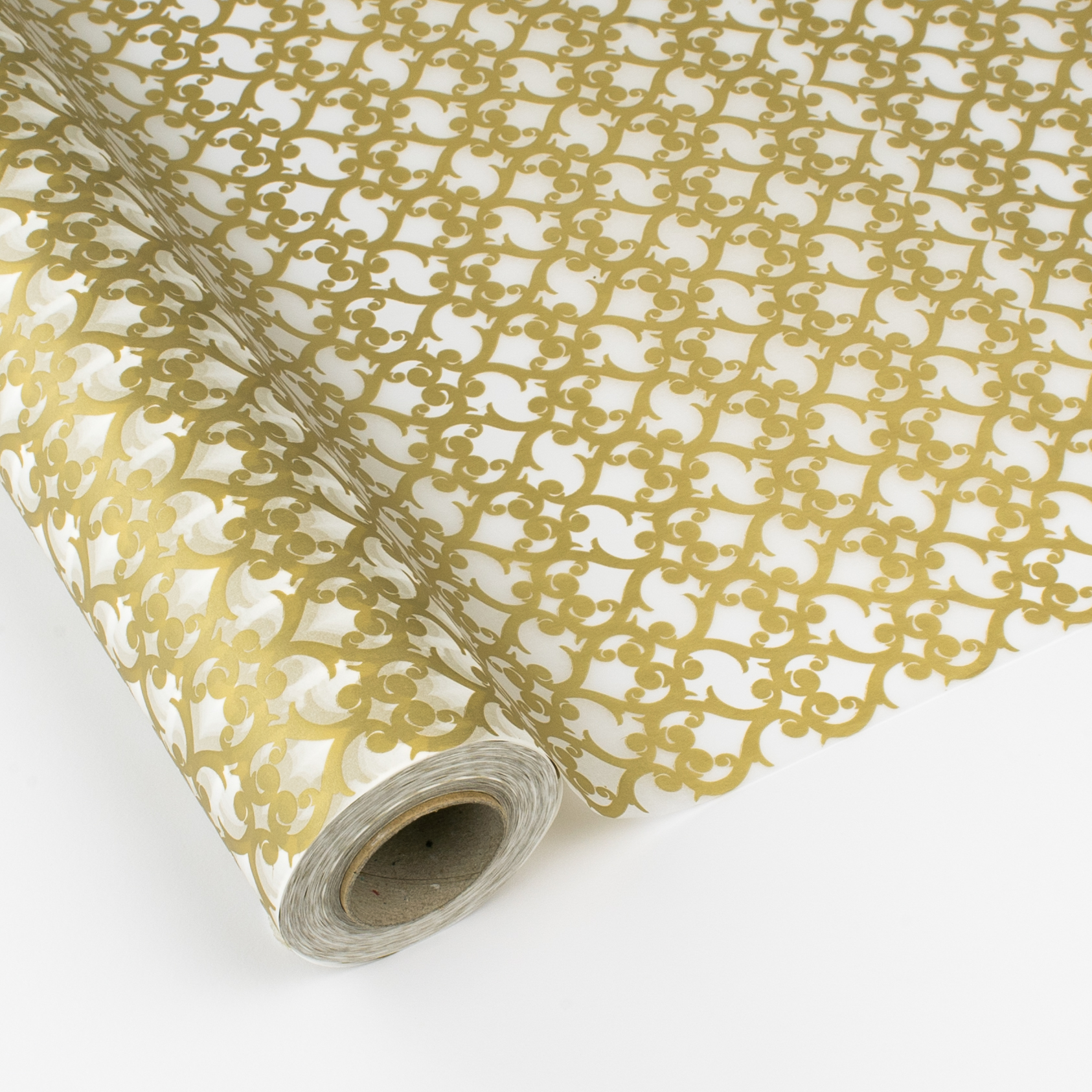 bobina de papel seda oro