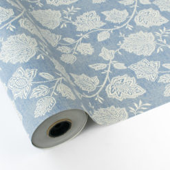 Papel de Regalo Vintage - Flores Textura