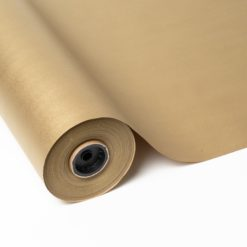 Papel Kraft Reciclado impreso color oro
