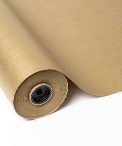 Papel Kraft Reciclado impreso color oro