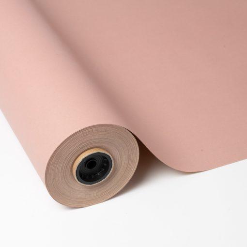 Papel kraft reciclado impreso rosa
