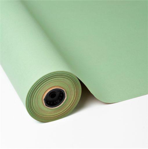 papel de regalo reciclado verde
