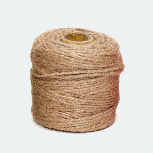 Rollo Cordón Textil Yute Natural