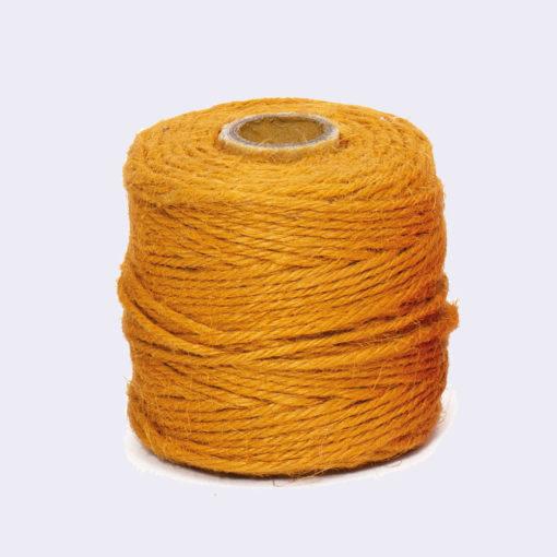 Rollo Cordón Textil Yute Ocre