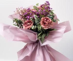 papel para envolver flores
